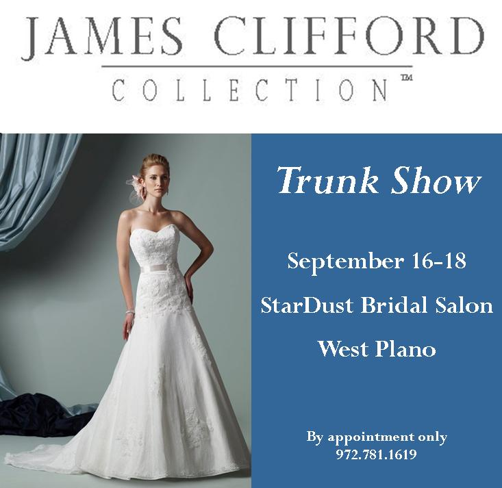 James Clifford Wedding Gowns: James Clifford And Allure Bridals Trunk Show This Weekend