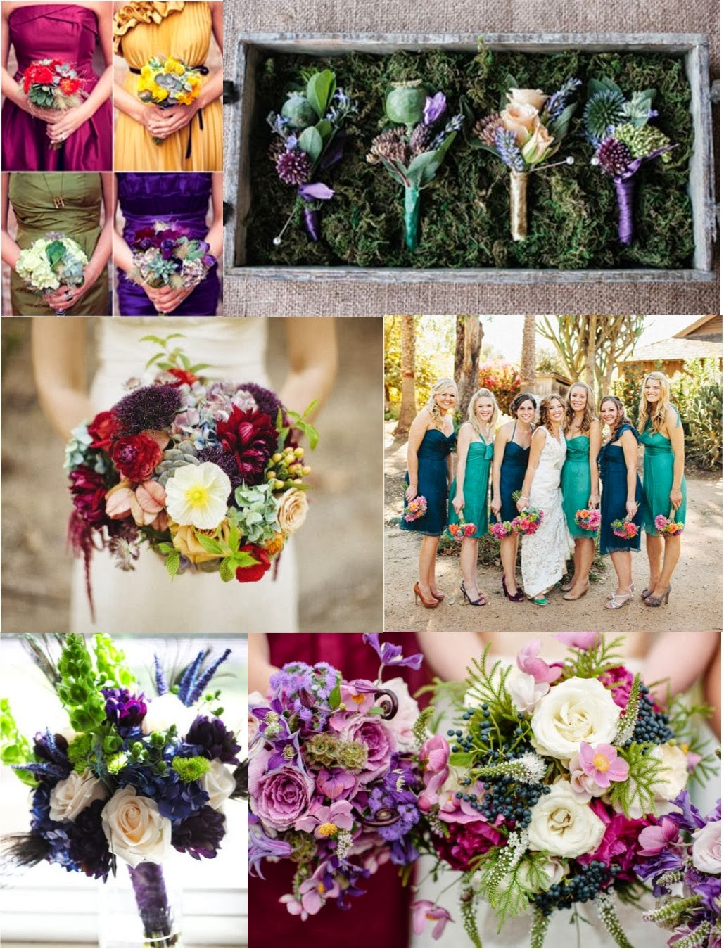 Trend alert jewel toned color palette stardust celebrations - What are jewel tone colors ...