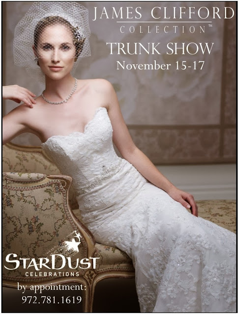 Love Lace? Shop James Clifford Trunk Show this Weekend   StarDust ...