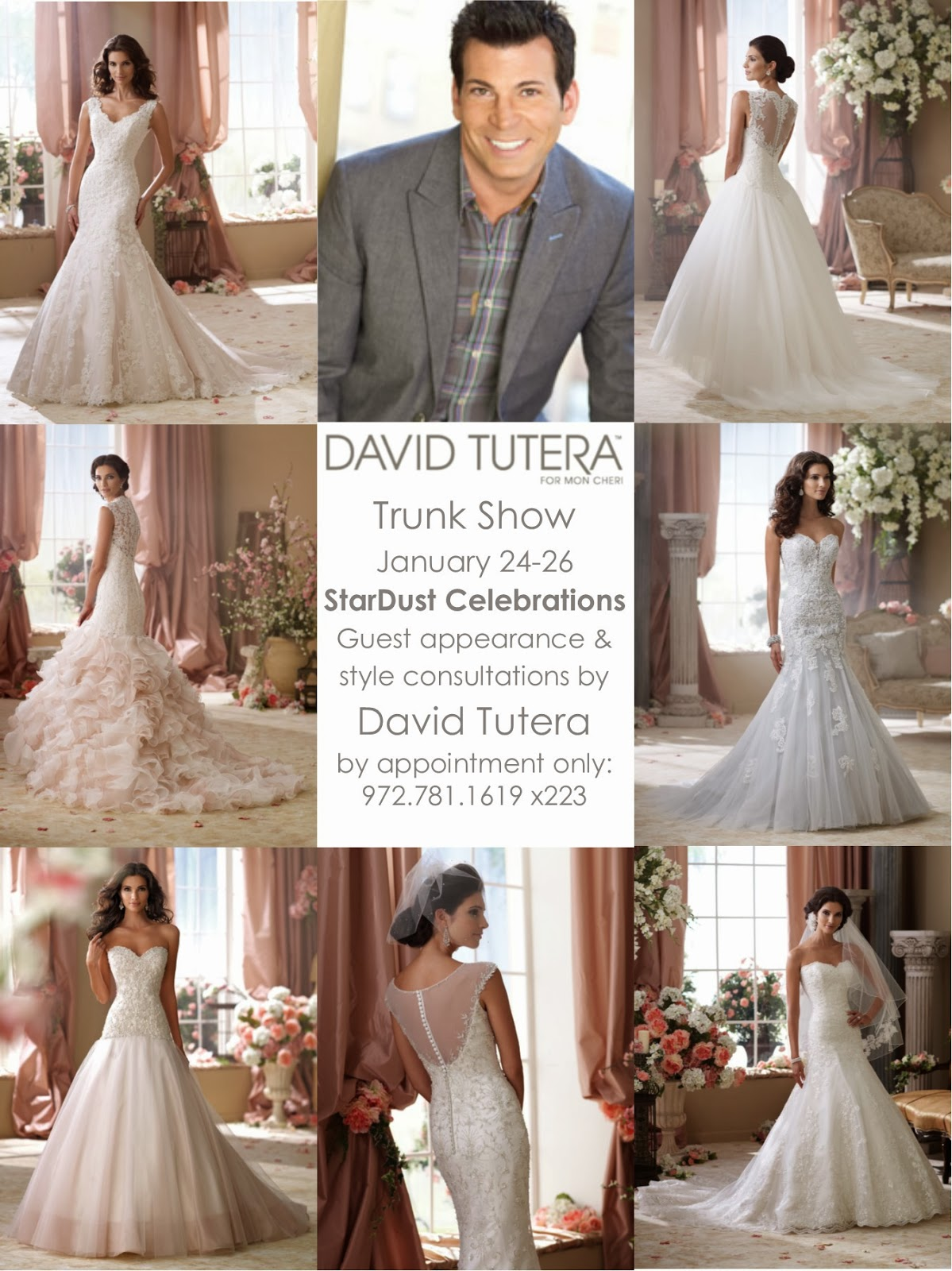 88b1893d0c81a Legendary Bridal Expert David Tutera to Style Brides at StarDust ...