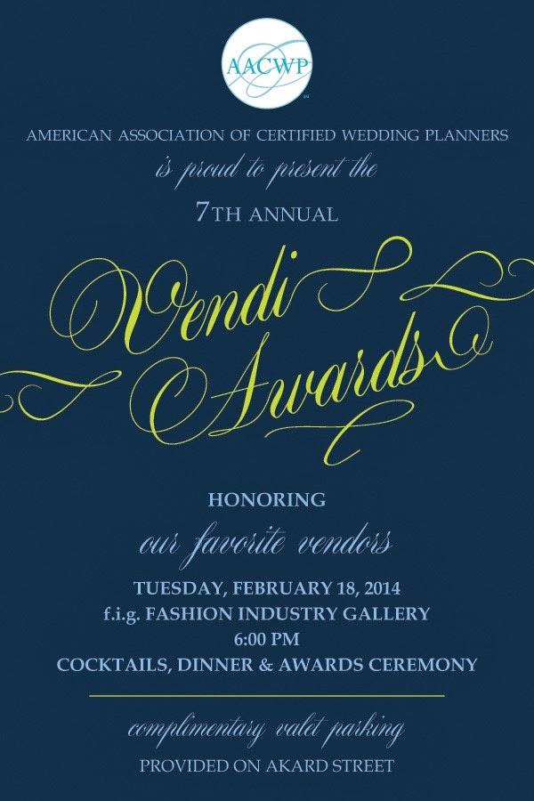 StarDust Celebrations Awarded Favorite Bridal Salon by the AACWP