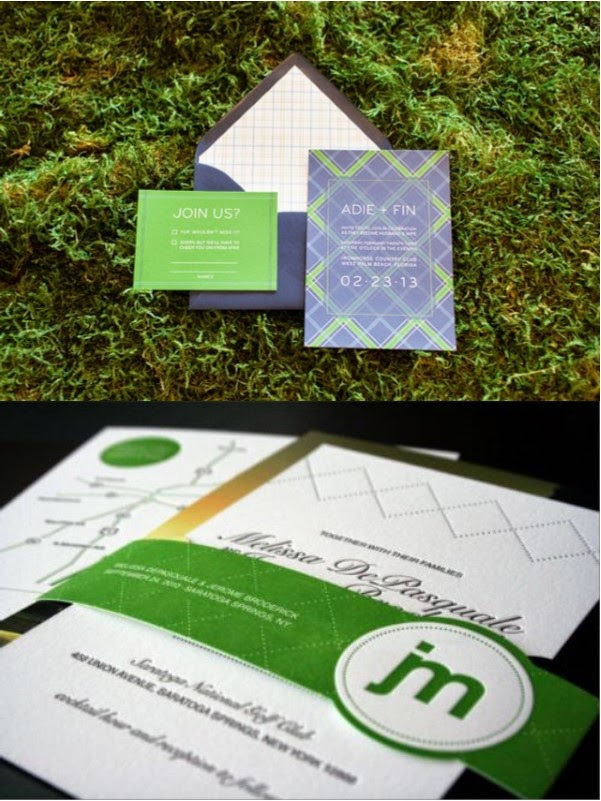 These Fun Golf Inspired Wedding Invitations Will Set The Tone For Your Event And Let Guests Know There In A Treat