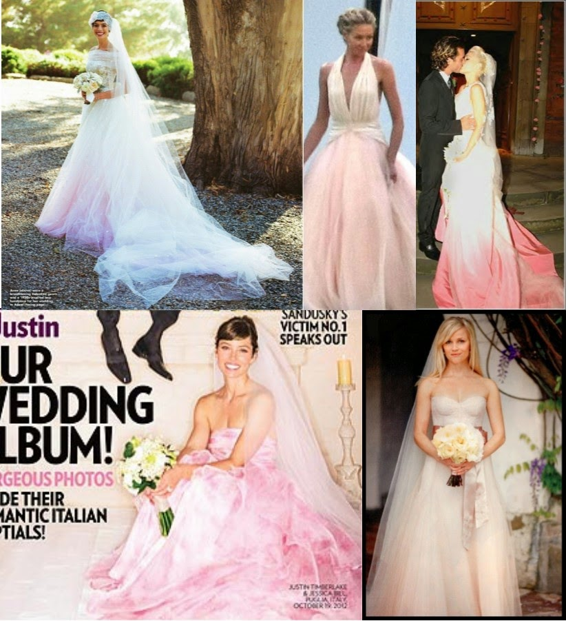 Pretty in Pink: Blush Wedding Gowns Still HOT for 2014 | StarDust ...