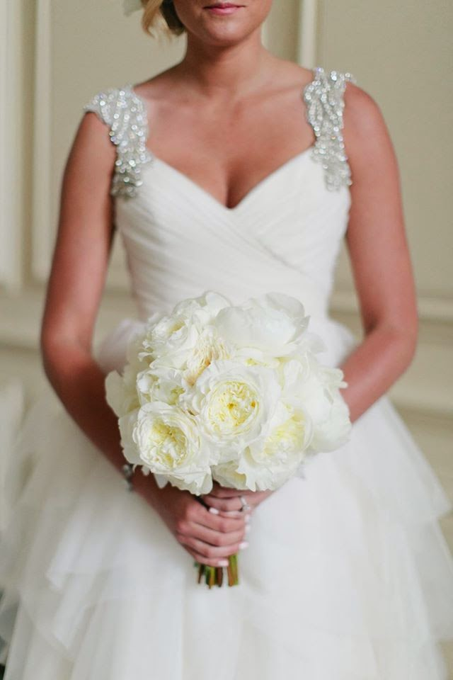 Real Wedding Bride Is Stunning In Carrie Gown By Hayley Paige