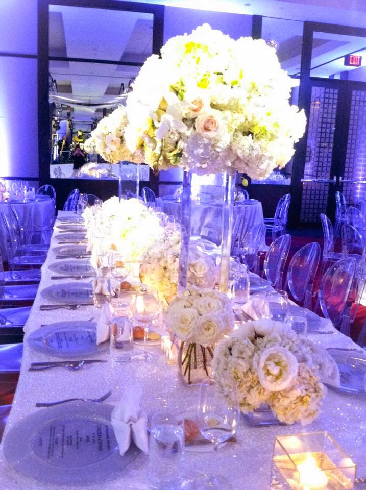 Real wedding sneak peek ultimate glamour at the joule for Table 52 2015