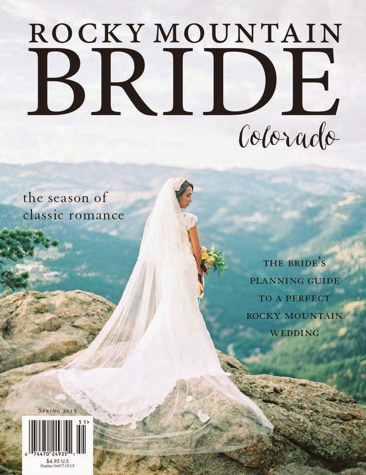 Real Wedding: StarDust Bride Julie Featured on Cover of Rocky ...