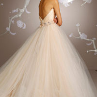 LZ3108Bridal Gown by Lazaro Back