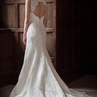 AJDAPHNE Bridal Gown by Augusta Jones Back