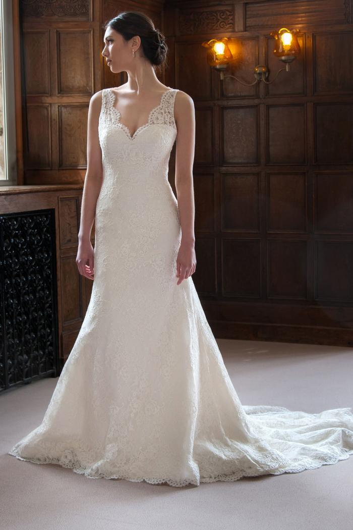 AJDAPHNE Bridal Gown by Augusta Jones Front
