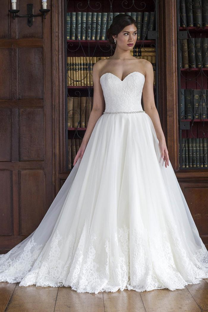 AJKEIRA Bridal Gown by Augusta Jones Front