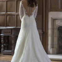 AJMIA Bridal Gown by Augusta Jones Back