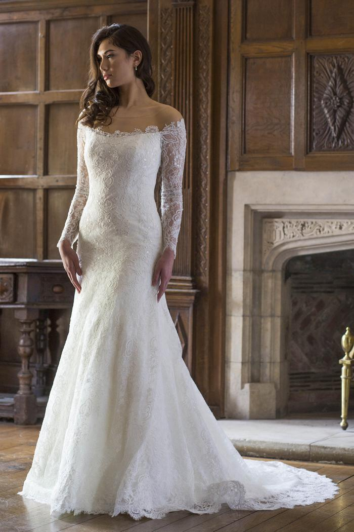 AJMIA Bridal Gown by Augusta Jones Front