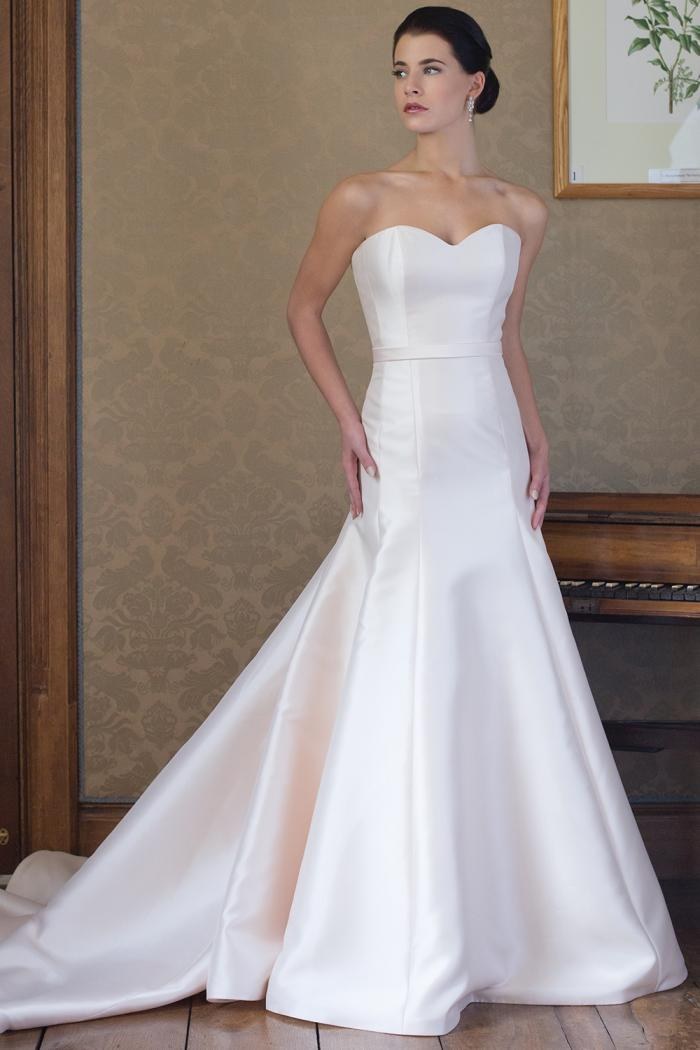 AJREBECCA Bridal Gown by Augusta Jones Front