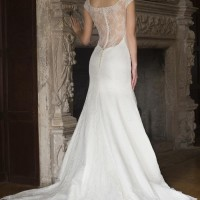 AJSUSIE Bridal Gown by Augusta Jones Back