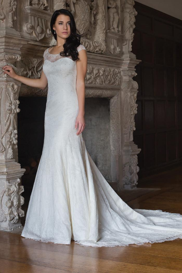 AJSUSIE Bridal Gown by Augusta Jones Front
