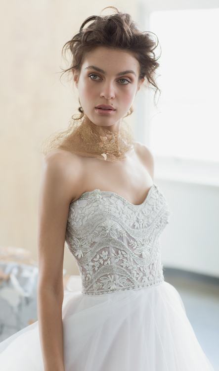 EM1508Bridal Gown by Eve of Milady Front