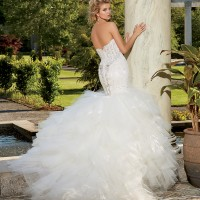 EM1535 Bridal Gown by Eve of Milady Back
