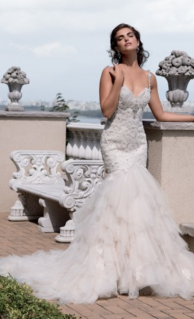 EM4337 Bridal Gown by Eve of Milady Front