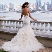 EM4337 Bridal Gown by Eve of Milady Back