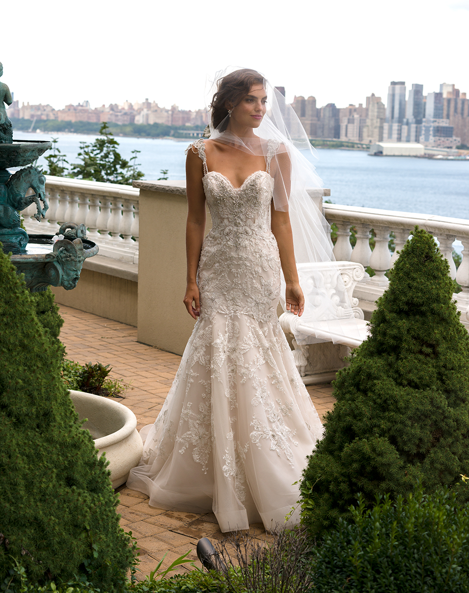 EM4341Bridal Gown by Eve of Milady Front