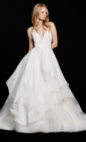 HPBAHATI Bridal Gown by Hayley Paige Front
