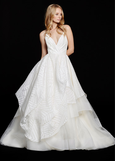 HPBAHATIBridal Gown by Hayley Paige Front