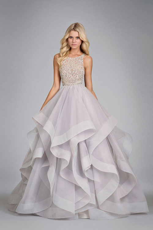 HPDORIBridal Gown by Hayley Paige Front