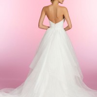 HPESTHERBridal Gown by Hayley Paige Back