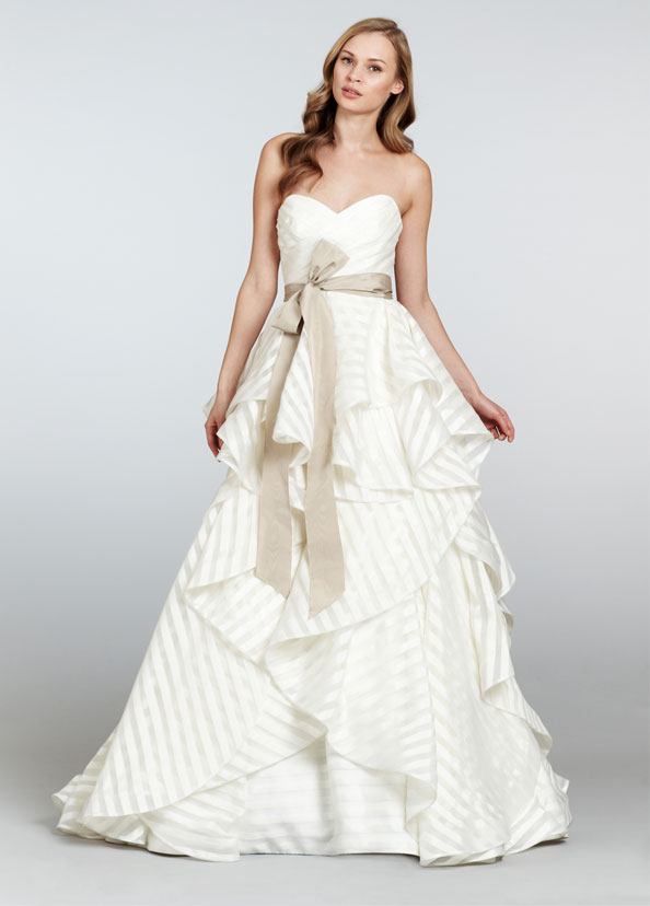 HPGUINDONBridal Gown by Hayley Paige Front
