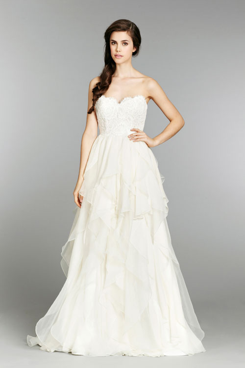 HPKIRABridal Gown by Hayley Paige Front