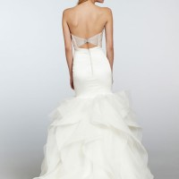HPLEIGHTONBridal Gown by Hayley Paige Back