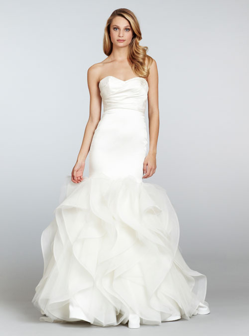 HPLEIGHTONBridal Gown by Hayley Paige Front