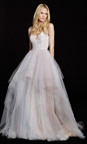 HPNICOLETTABridal Gown by Hayley Paige Front