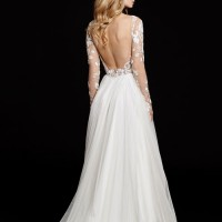 HPREMMINGTONBridal Gown by Hayley Paige Back