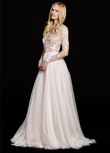 HPREMMINGTONBridal Gown by Hayley Paige Front