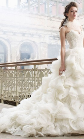 LZ3213 Bridal Gown by Lazaro Front