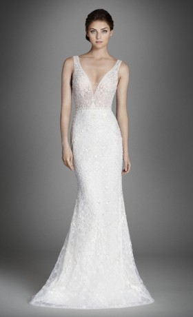LZ3558L Wedding Dress by Augusta Jones Front