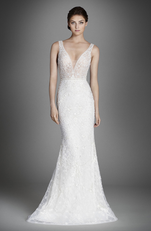 LZ3558LBridal Gown by Lazaro Front