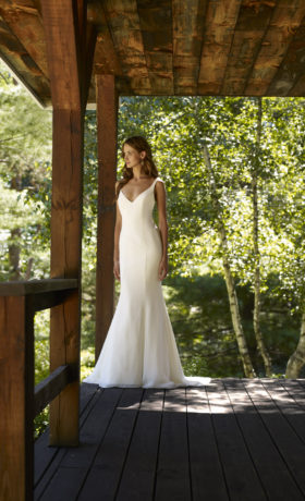 RBRiverBridal Gown by Robert Bullock Front