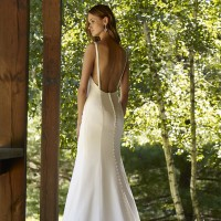 RBRiverBridal Gown by Robert Bullock Back