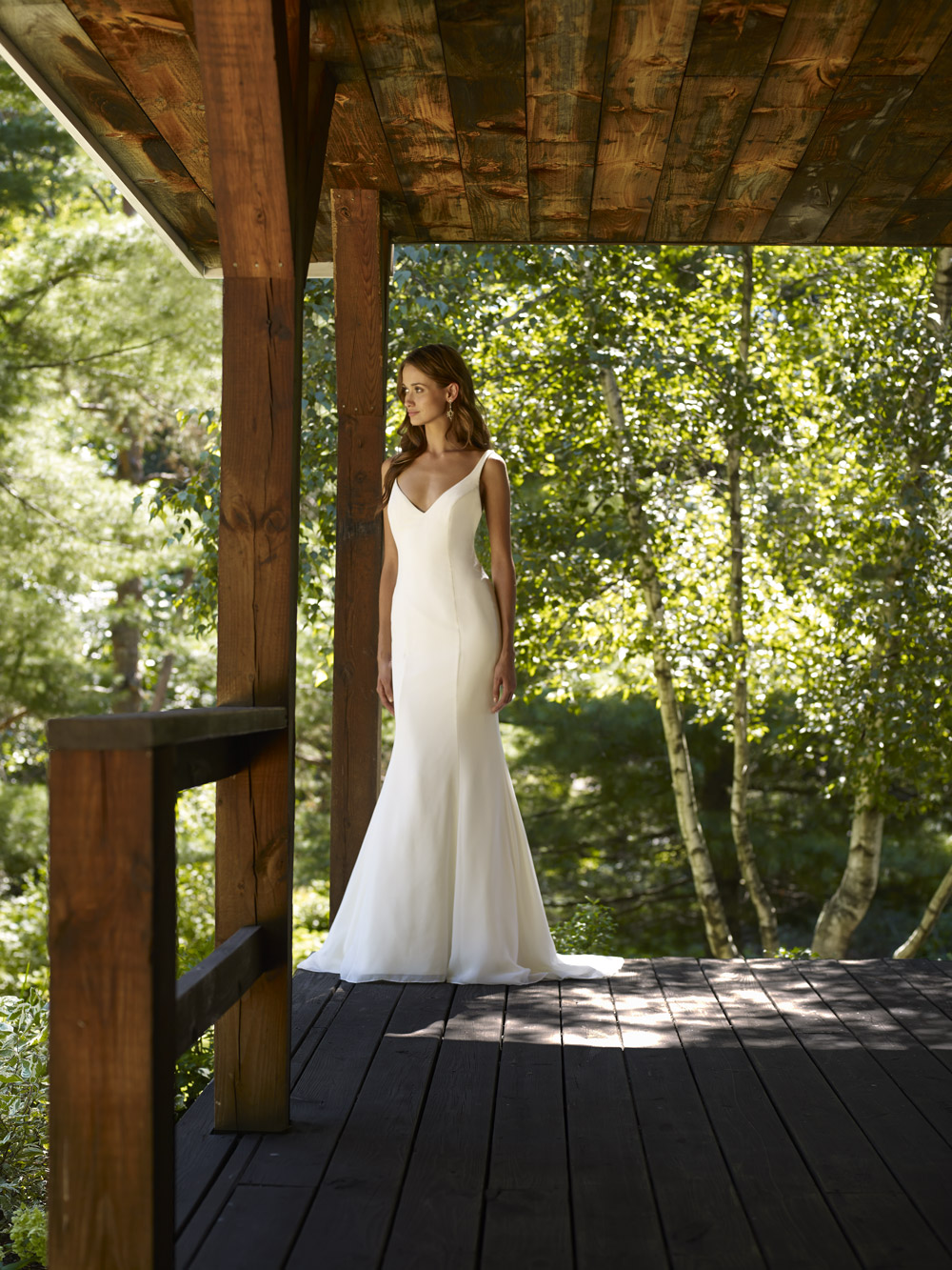 RBRiver Bridal Gown by Robert Bullock Front