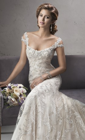 SMETTIENE Bridal Gown by Sottero & Midgley Front