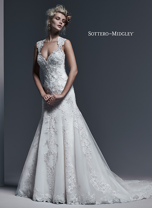 SMMONTICELLO Bridal Gown by Sottero & Midgley Front