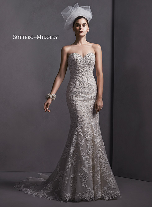 SMSTELLA Bridal Gown by Sottero & Midgley Front