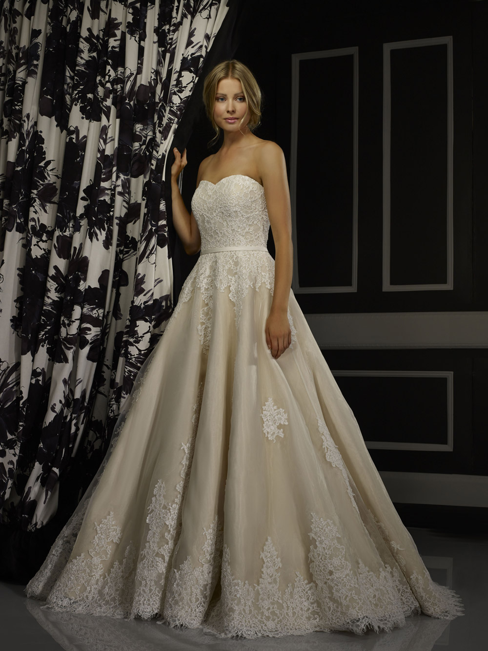 RBTansy Bridal Gown by Robert Bullock Front