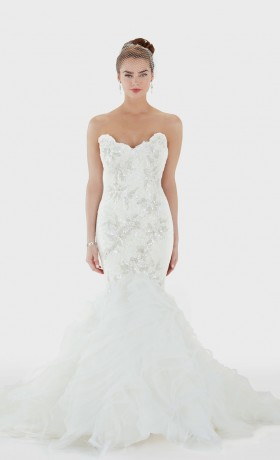 MCBRIGITTE Bridal Gown by Matthew Christopher Front