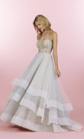 HPJOSIEBridal Gown by Hayley Paige Front