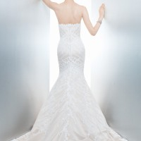 MCSOPHIA Bridal Gown by Matthew Christopher Back