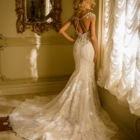 EM1559 Bridal Gown by Eve of Milady Back