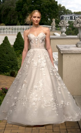 EM4347 Bridal Gown by Eve of Milady Front